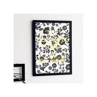 Message poster - Delightful (gold)