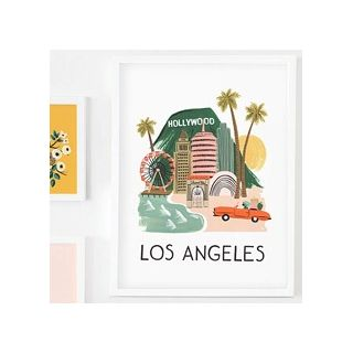 City print - Los Angeles