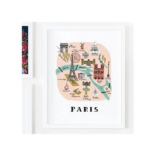 City print - Paris