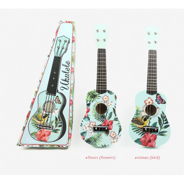 Un v ritable ukul l au style exotique for Porte ukulele