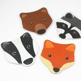 Forest animals nail file