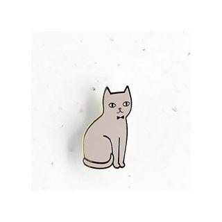 Audrey's cat - grey