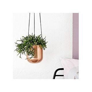 cache pot en cuivre suspendre par bloomingville. Black Bedroom Furniture Sets. Home Design Ideas