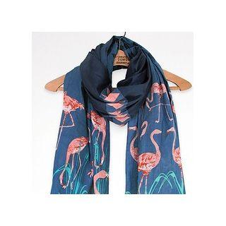 Foulard flamingos