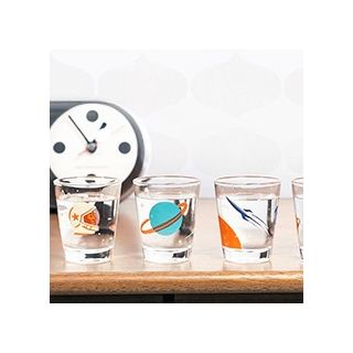 Cosmos mini glasses