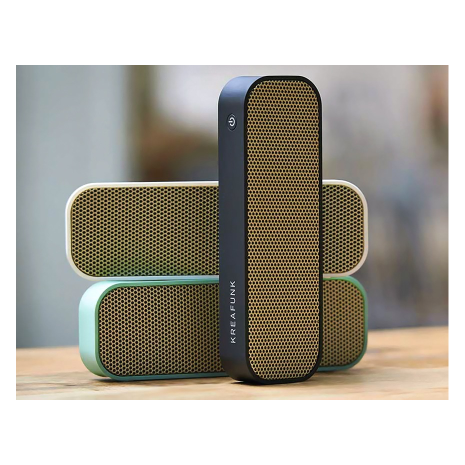 enceinte portable bluetooth agroove par kreafunk. Black Bedroom Furniture Sets. Home Design Ideas