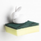 Porte-éponge lapin Bunny sponge par Qualy