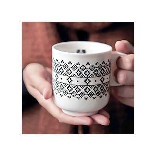 Fleurs géométriques - mug