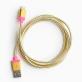 Câble doré pour iPhone/iPad par ban.do