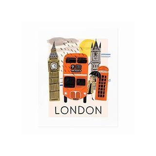 City print - London