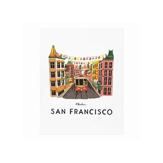 City print - San Francisco