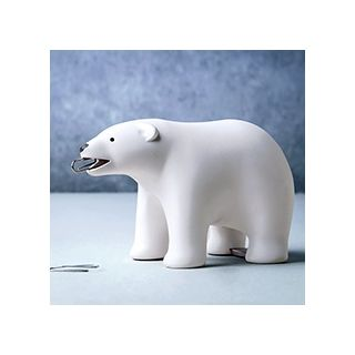 Polar bear desk buddy
