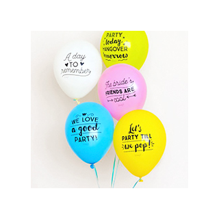 Balloons for epic hen parties