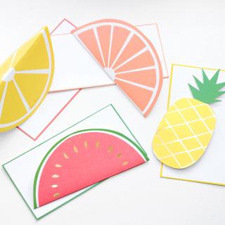 Fruit notecards