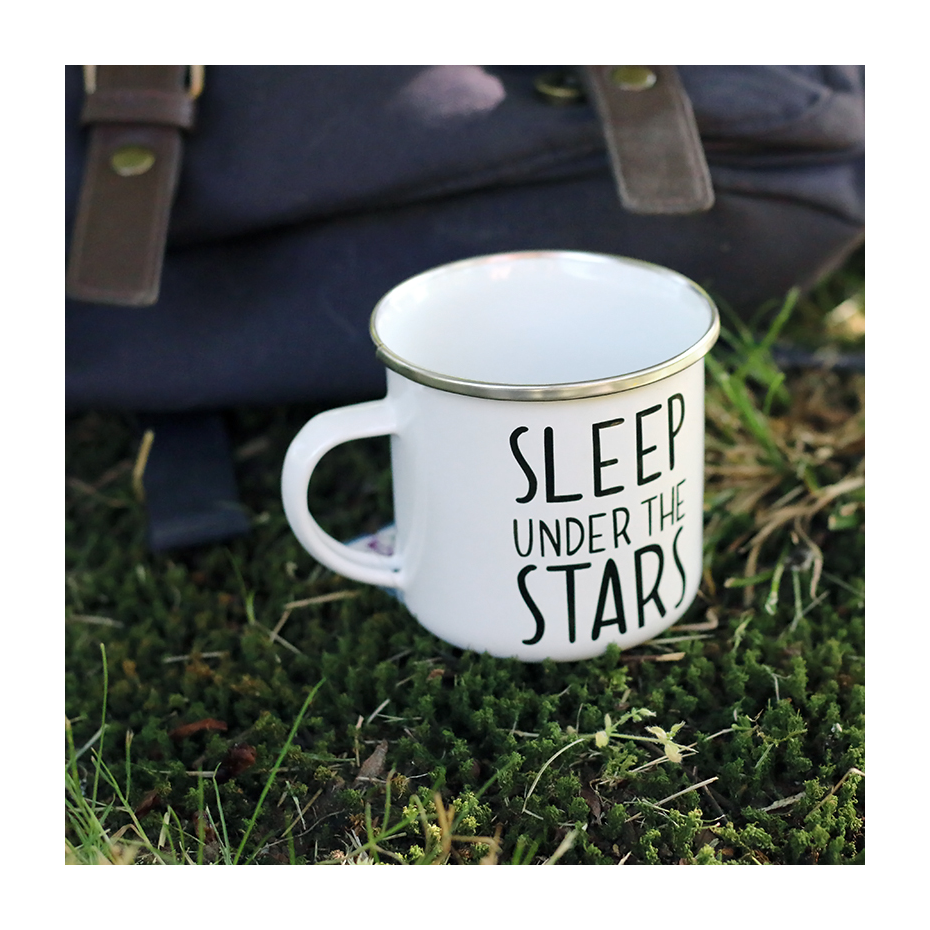 mug en mail sleep under the stars par sass belle. Black Bedroom Furniture Sets. Home Design Ideas