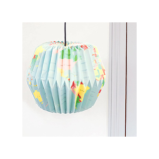 World map lamp shade