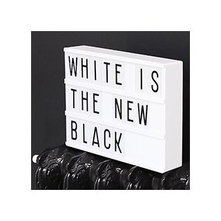 Lightbox A4 - blanc