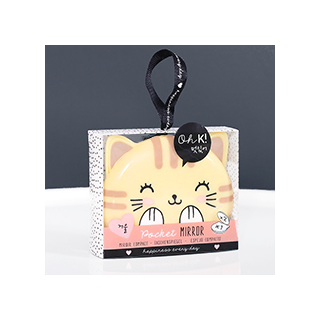 Kitty pocket mirror
