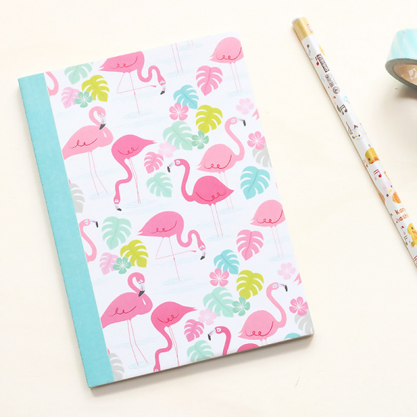 Flamingo bay notebook