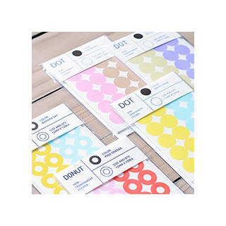 Semi-transparent stickers