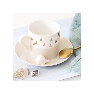 Triangle cup - hedgehog