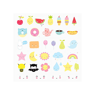 Lightbox kawaii set