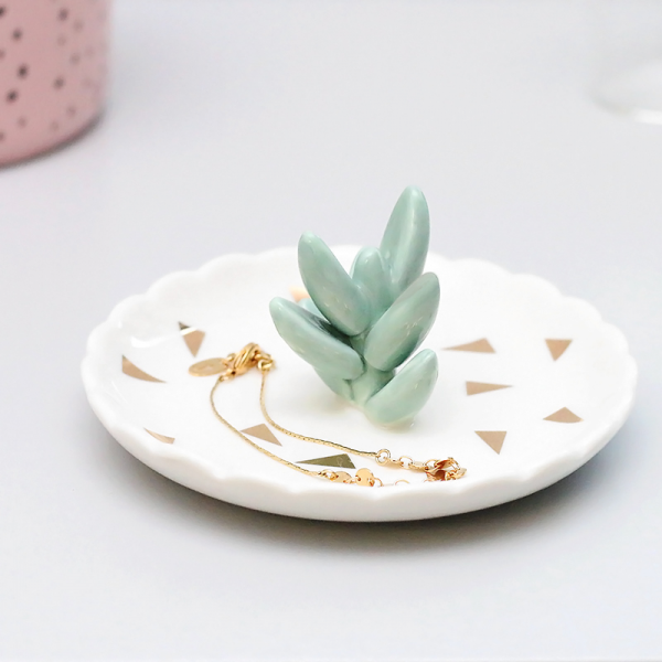 Succulent trinket