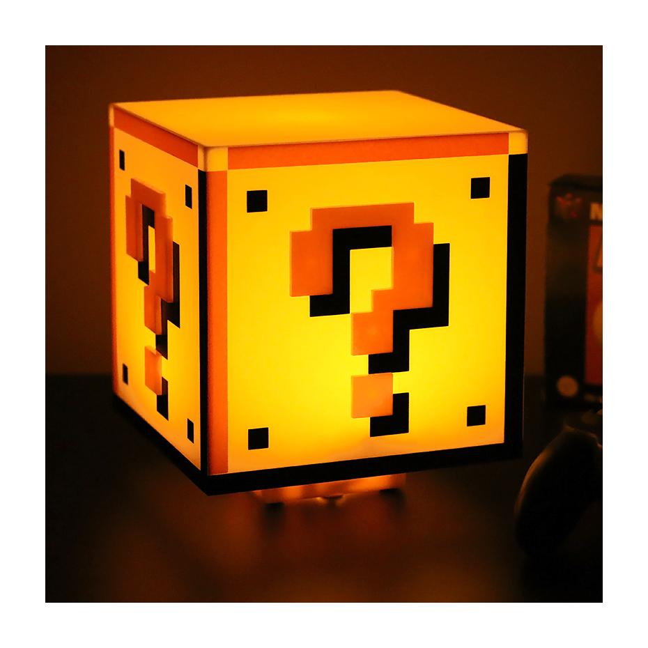 Lampe Question Block Super Mario Bros par Paladone