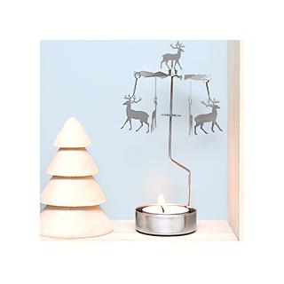 Reindeer carousel