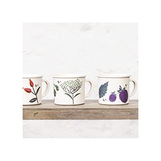 Flora espresso cups