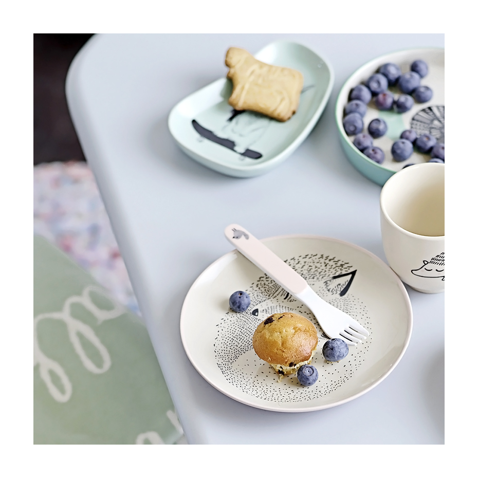 assiette en c ramique adelynn par bloomingville. Black Bedroom Furniture Sets. Home Design Ideas