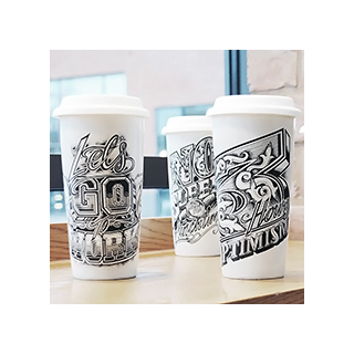 To go? tattoo cup