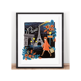 Travel print - Paris