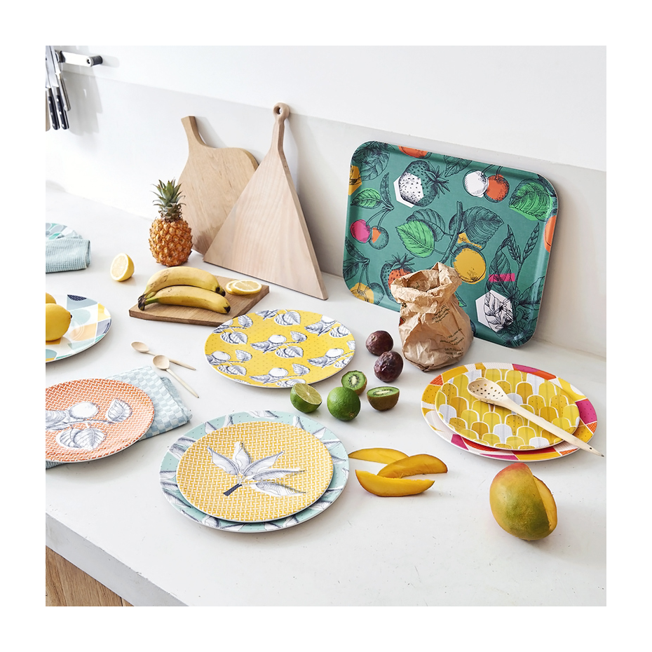 plateau gravure fruits vintage par mr mrs clynk. Black Bedroom Furniture Sets. Home Design Ideas