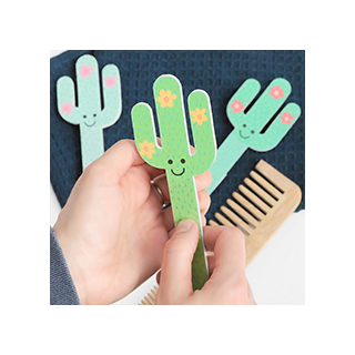 Cactus nail file