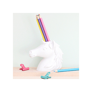 Unicorn pencil holder