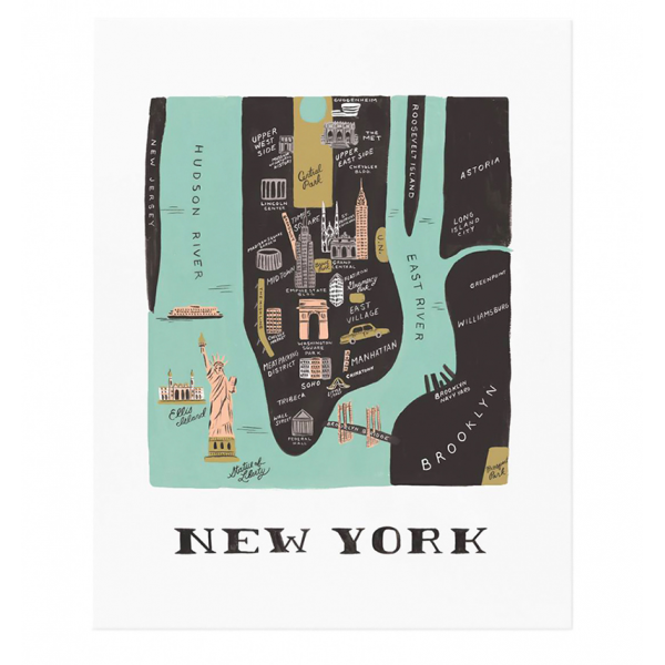 City print - New York City