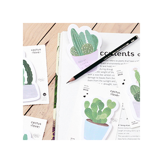 Cactus love notes