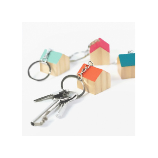 Sweet home keychain