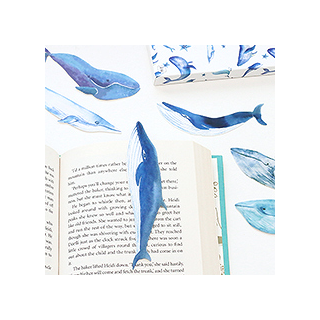 Marque-pages baleines