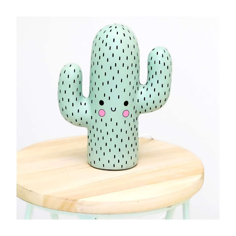 lampe cactus kawaii. Black Bedroom Furniture Sets. Home Design Ideas