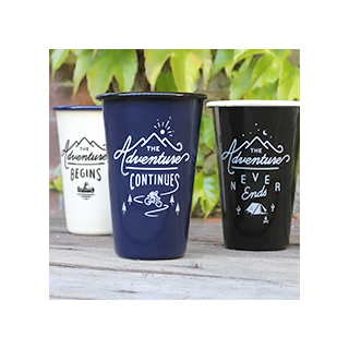 Adventure begins - tumbler set
