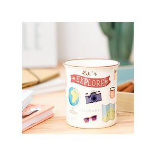 Let's explore - mug