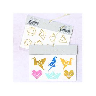 Meri Meri tattoo - origami
