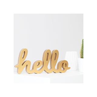 Gold hello