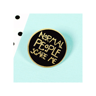 Normal people scare me pin's