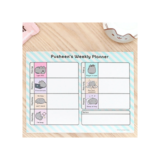 Pusheen's weekly planner