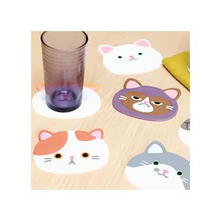 Sous-verres chats kawaii