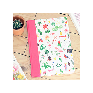Tropical A4 notebook