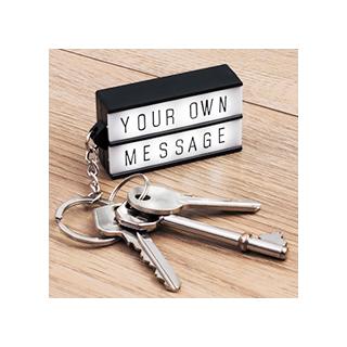 Light box keychain